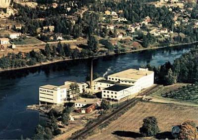 Papyrus Paper Mill Mjøndalen