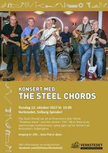 Konsert med The Steel Chords @ Stiftelsen Verkstedet | Buskerud | Norge