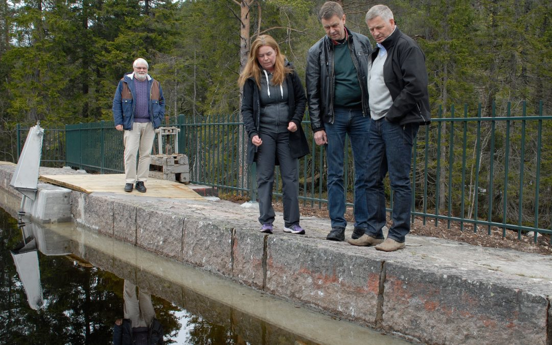 Rehabilitering av Solbergvannsdemningen 2013