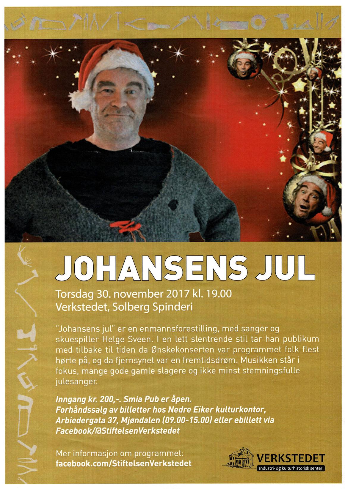 Johansens jul @ Verkstedet, Solberg Spinderi | Buskerud | Norge