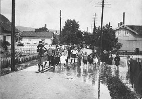 Flommen i Storelva i 1927