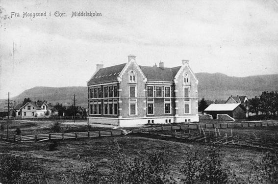 Hokksund Ungdomsskole – historie