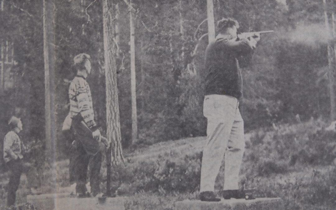 Leirduebanen i Solbergelva 1967