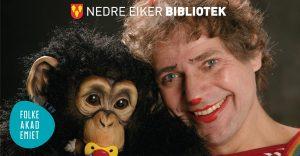 Barneteater // Apestreker med klovnen Knut @ Nedre Eiker bibliotek | Buskerud | Norge