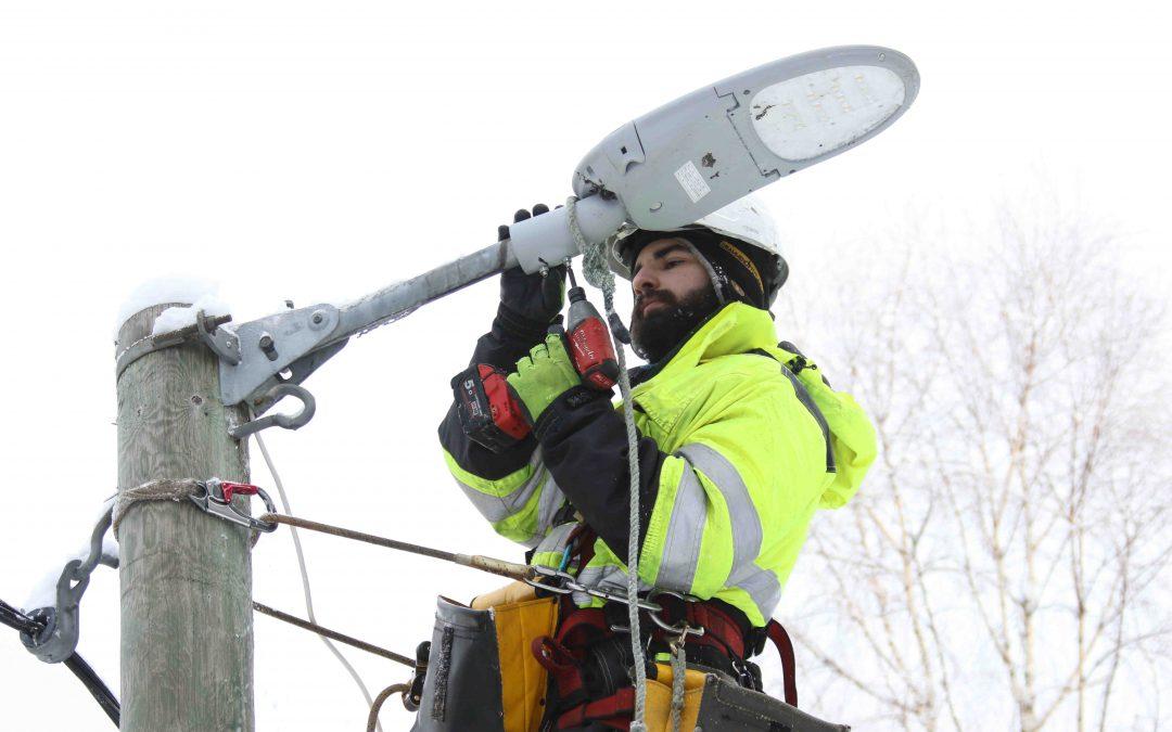 Lysløypa i Solbergåsen oppgradert