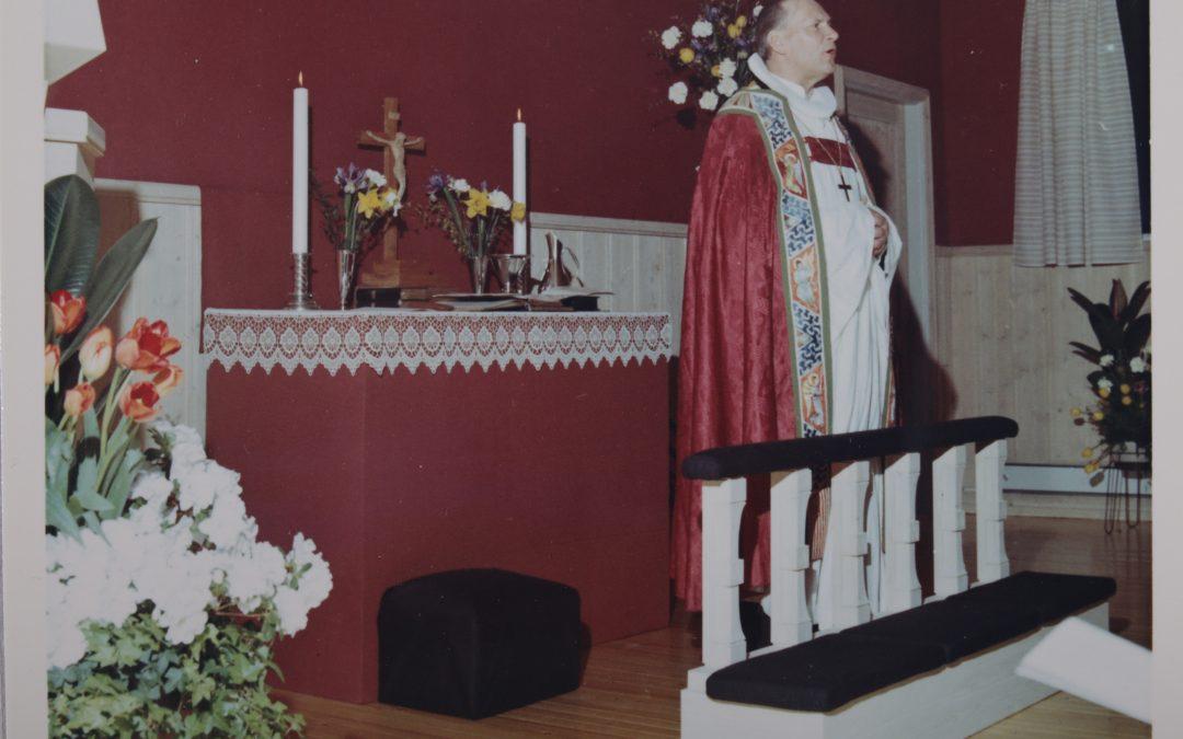 Lokalet Fredtun vigslet til kapell