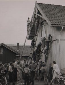 Foto: Olaf Krokli. Avholdslokalet i Mjøndalen
