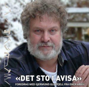 Det sto i avisa // Foredrag med Gjermund Glittfjell, Eiker Arkiv @ Stiftelsen Verkstedet