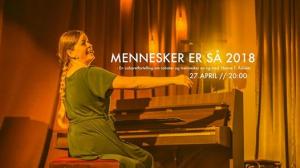 MENNESKER ER SÅ 2018 @ Mjøndalen Bibliotek