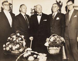 Axel Helgeland og 4 sønner (Eivind, Hans Andreas, Axel, Alf, Kjell)