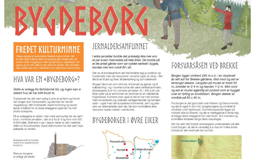 Ta turen til en bygdeborg!