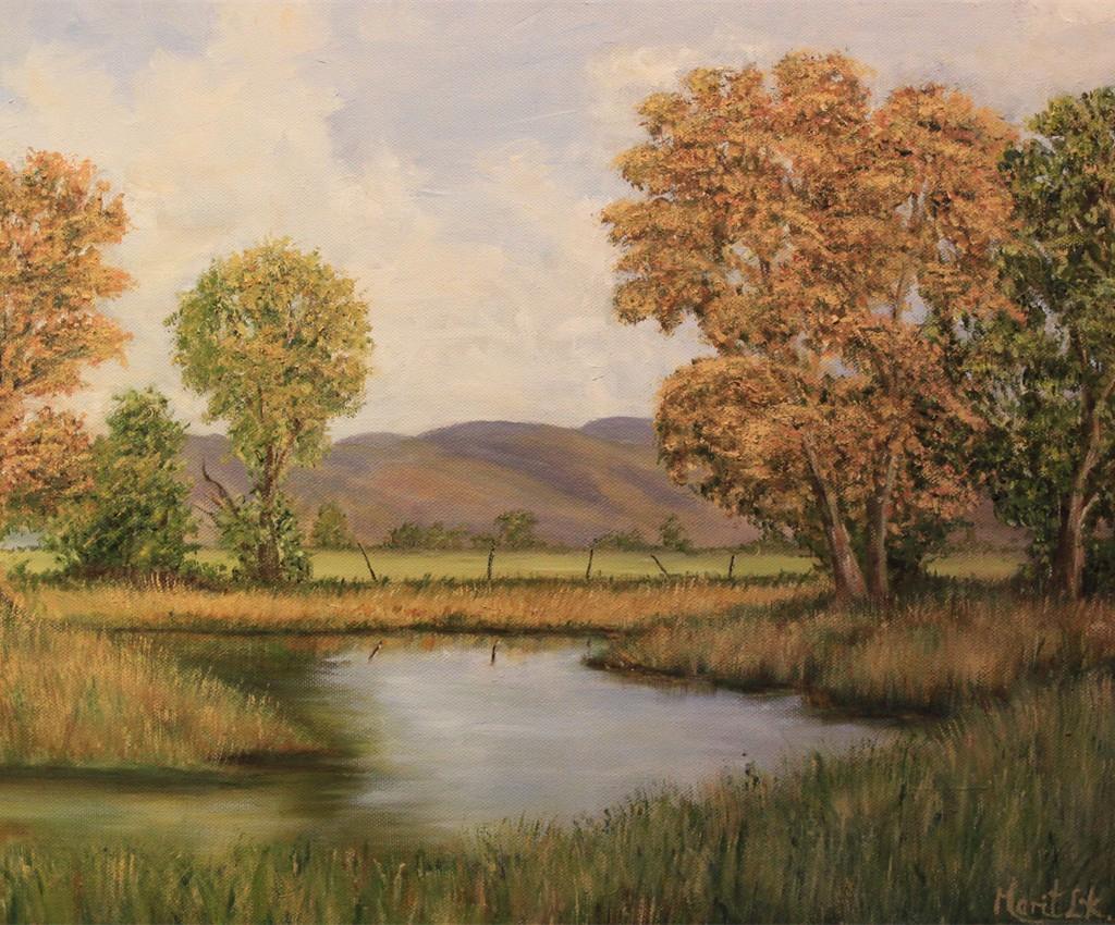 Høstlandskap - Marit L. Kjønner