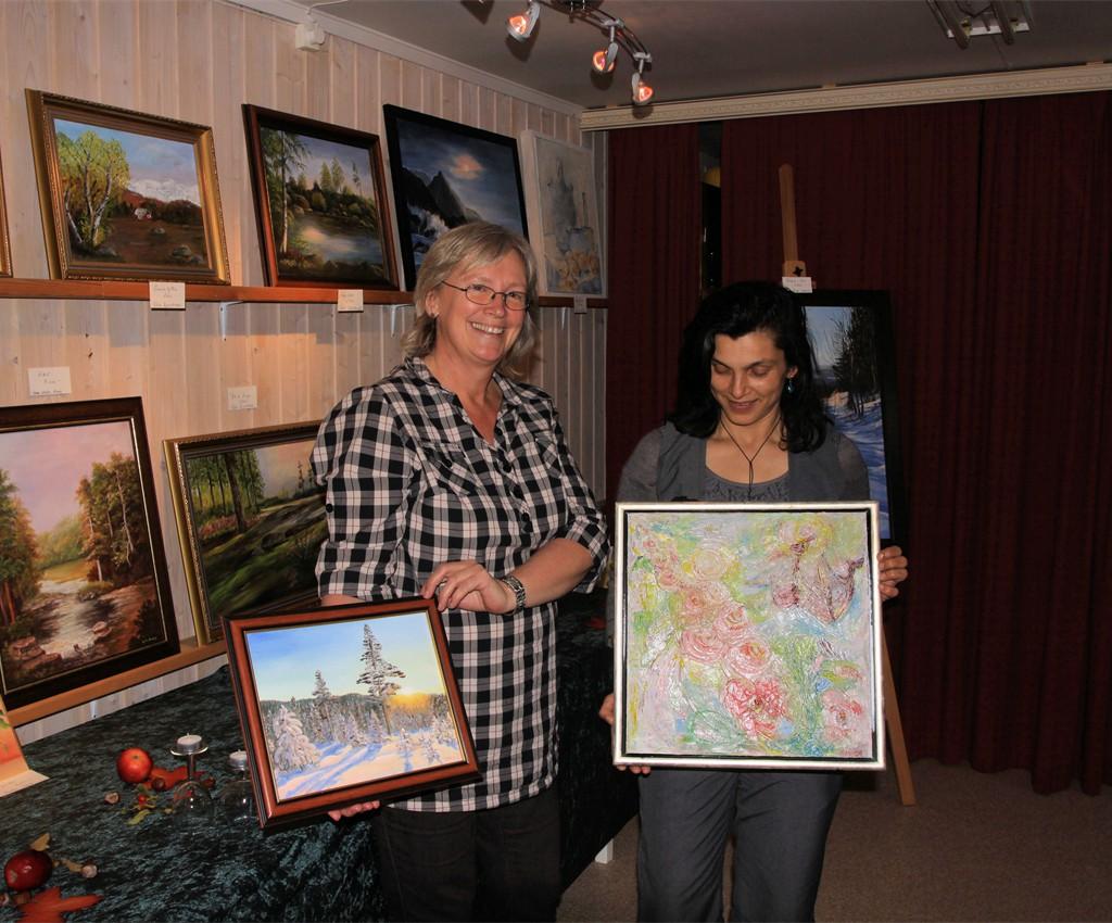 Inger Anne Engedahl og Anita F. Aulie