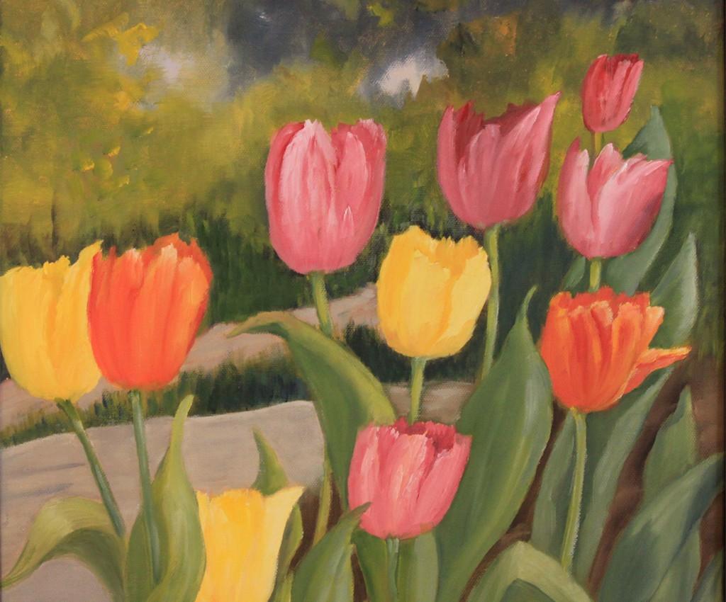 Tulipaner - Grethe Skog
